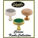Colonial Bronze - Corian Knobs Collection